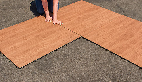 Easy-to-install flooring step four