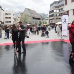 slate black ballroom portable dance floor event