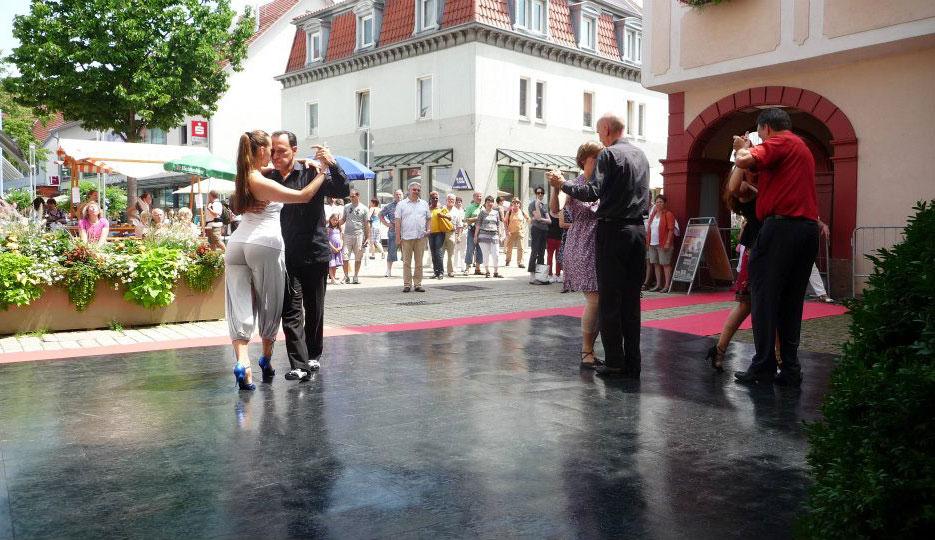 Slate Black Dance Floor Snaplock Dance Floors