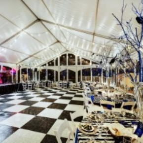 Interior Portable Dance Floor at wedding