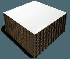 White Slate Stack