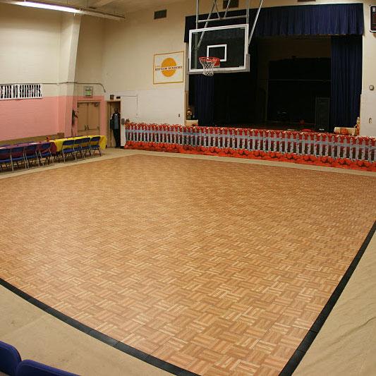 30 x 30 Oak Dance Floor with edging