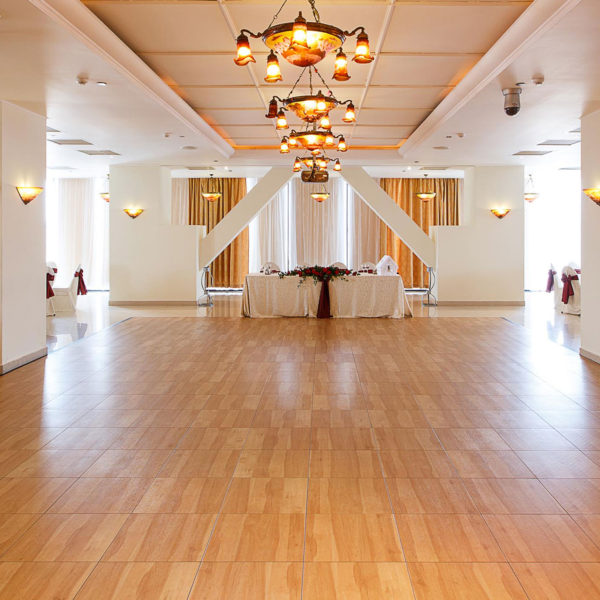 Maple XL flooring at a venue